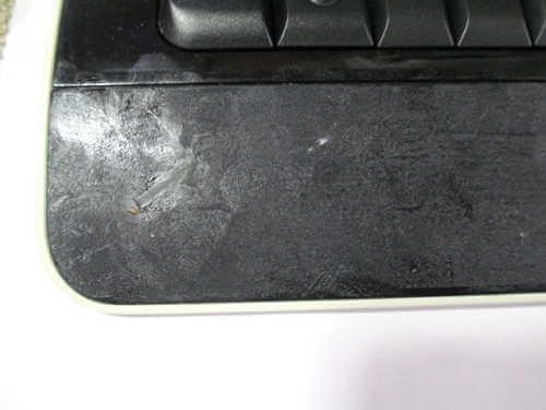 マイクロソフトワイヤレスキーボードのヌメリ