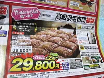 東京西川 ハシガリー産羽毛掛け布団(KA07003502)