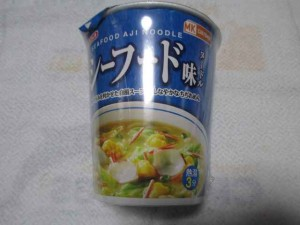 MKG マツキヨ シーフード味ヌードル