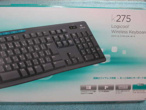 ロジクール Wireless Keyboard K275