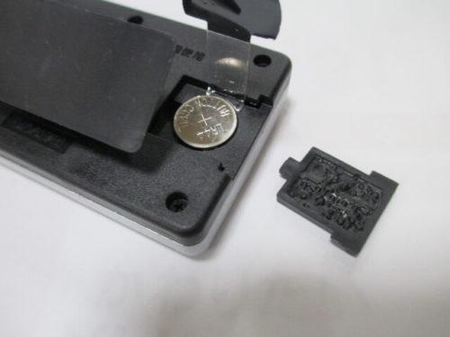 画面が見やすい デジタル時計(CLEAR VISIBLE DIGITAL CLOCK)D106 マグネットは無し