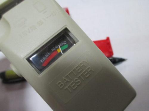 デジタル デスククロック(DIGITAL DESK CLOCK)286 電池電圧