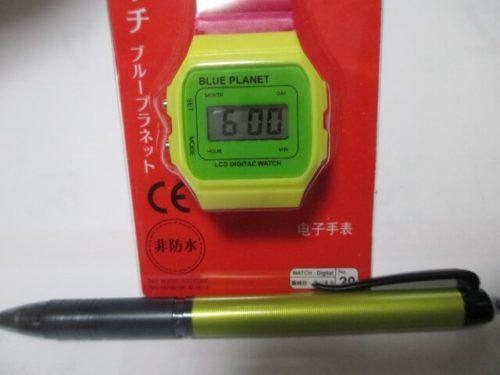 腕時計 正面 デジタルウオッチ ブループラネット(DIGITAL WATCH BLUEPLANET A)20