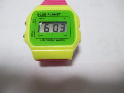 腕時計 パッケージから出す デジタルウオッチ ブループラネット(DIGITAL WATCH BLUEPLANET A)20